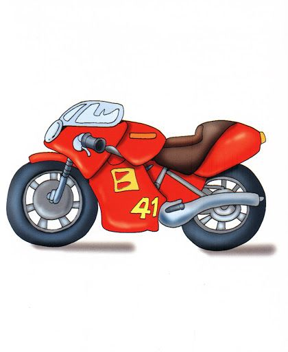 MOTORCYCLE CLIP ART TRANSPORT CLIPART Pinterest