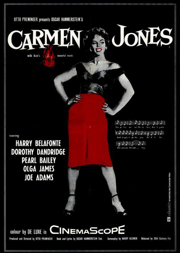 Carmen Jones 11x17 Movie Poster (1954)