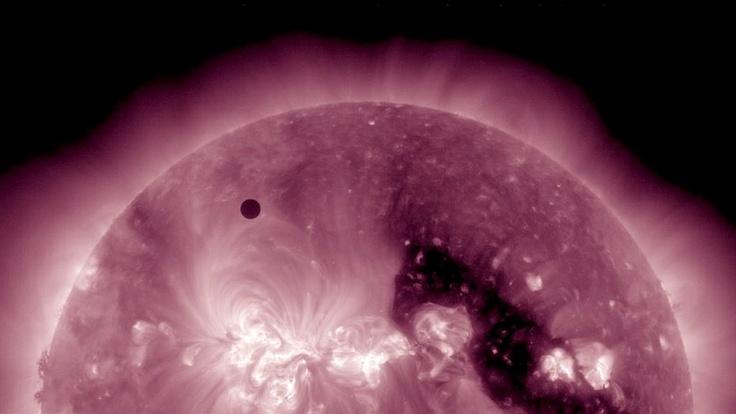 SDO satellite captures the Transit of Venus across the face of the Sun