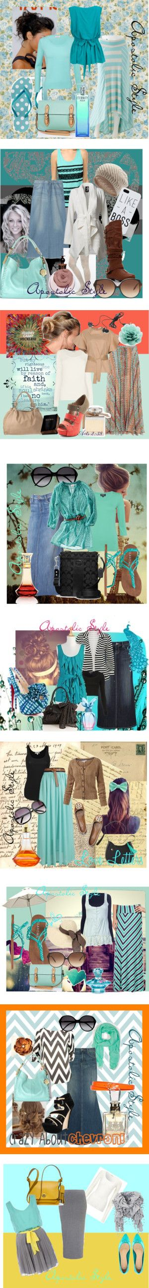 """Aqua Apostolic Style!"" by emmyholloway on Polyvore"