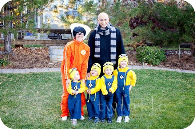 This is such a great idea for halloween Is ...so FuNnY!!! Despicable Me - Minions - Gru - Vector