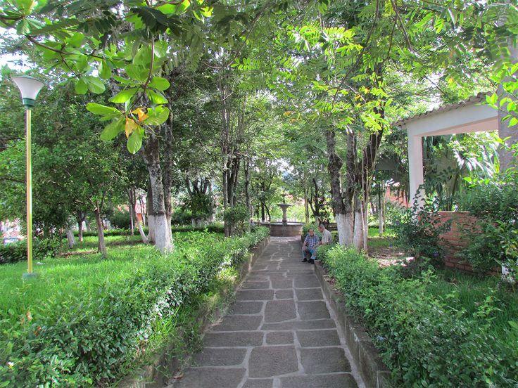 Parque Leonidas Medina -Bucaramanga - antes