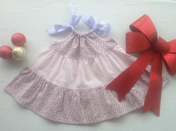 Baby girls floral cotton sun dress size 0 from 9 months