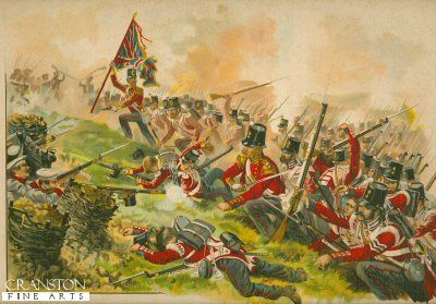 The Royal Welch Fusiliers at the Battle of the Alma.