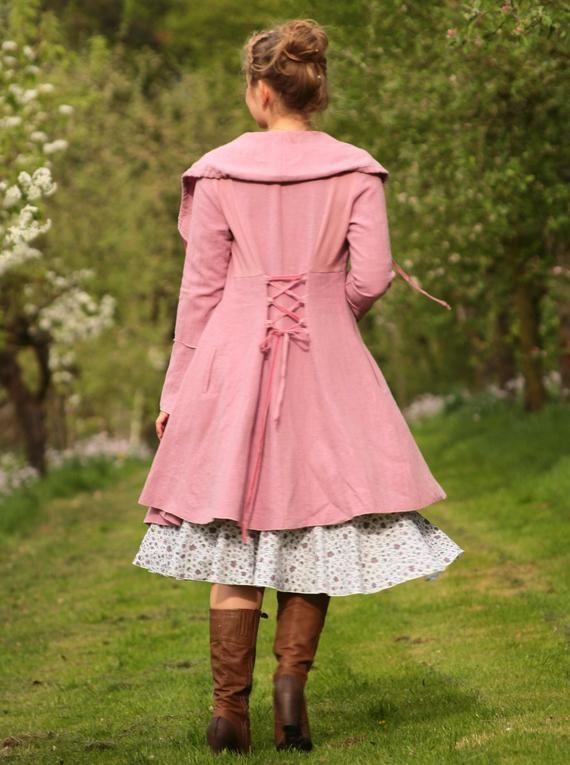 Leinen Mantel Sommermantel Altrosa Clothes For Women Fashion Clothes