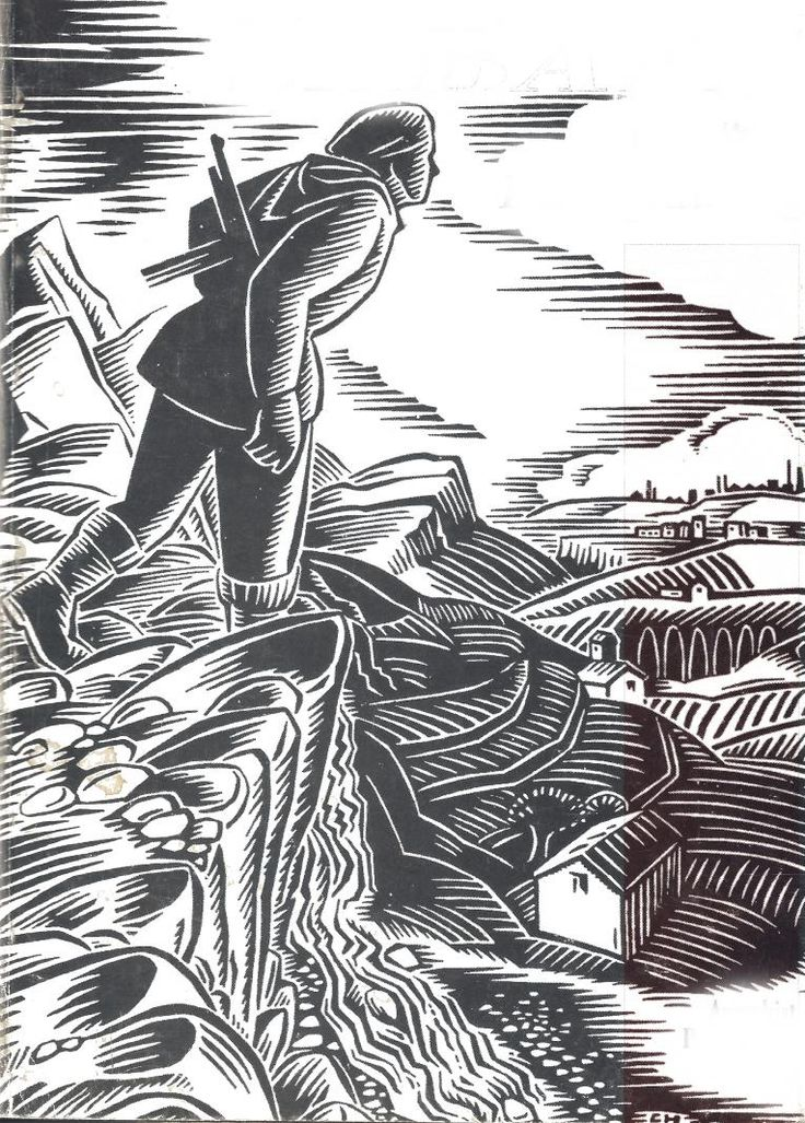 Sabate cover illustration by Clifford Harper