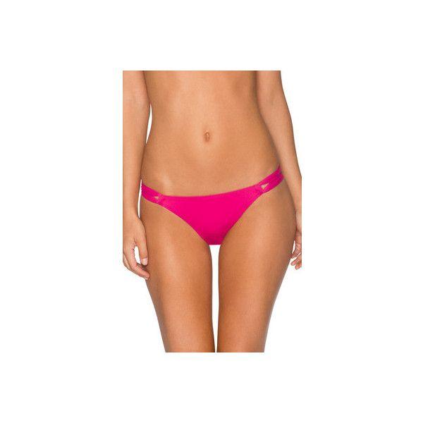 Women's Swim Systems Day Dreamer Hipster ($62) ❤ liked on Polyvore featuring swimwear, bikinis, bikini bottoms, scrunch bikini, scrunch bottom bikini, swim bikini bottoms, bathing suits two piece and beach bikini