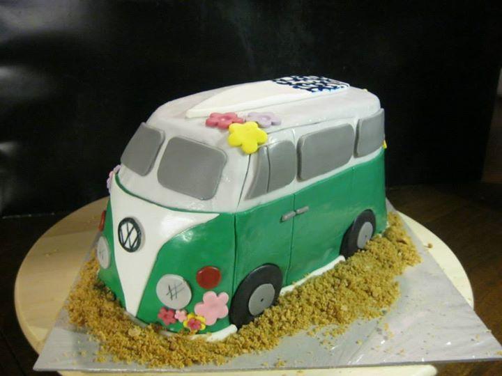 VW-Bus Torte