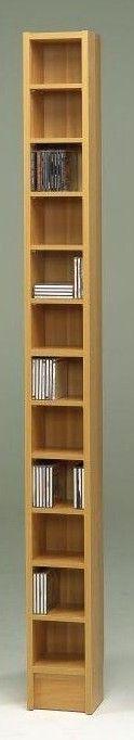 CD Multimedia 12-Shelf Storage Rack