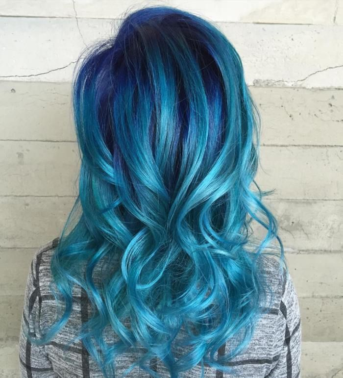 30 Icy Light Blue Hair Color Ideas for Girls | Gray ... - photo #9