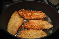 Pan-Grilled Flounder With Cajun Spices
