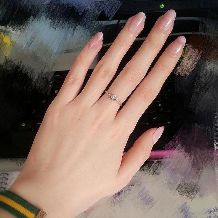 3 Sätze Pink Oval Nails #ombrenails #acrylicnailsnatural – Acrylnägelnatu … – Nagel Modelle
