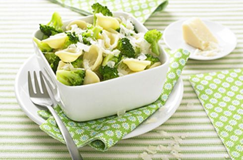 #Recette pour #bebe : Pasta italienne brocoli parmesan au #nutribaby #babymoov