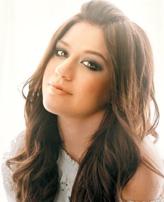 nice Kelly Clarkson Lange Frisur #Clarkson #Frisur #Kelly #Lange
