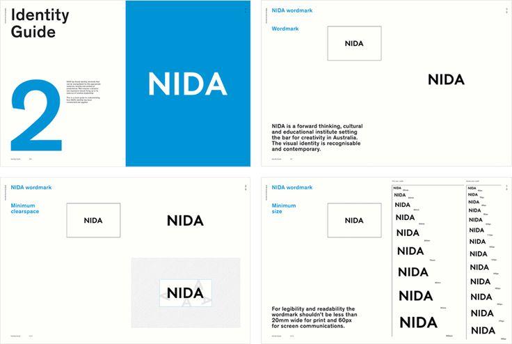 Brand Guidelines – NIDA by Maud, Australia