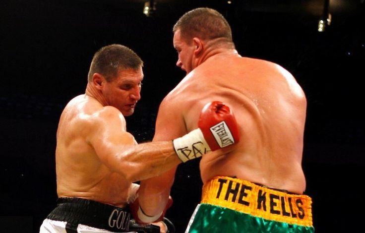 "Boxing Andrew Golota 6' 4"", 256 lbs vs Kevin McBride 6""6"", 295 lbs"