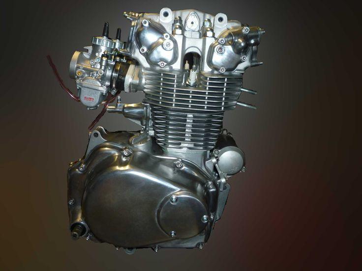 21 Best Honda Cb350f Cb400f Cafe Racer Images On Pinterest