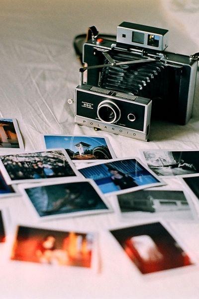 I absolutely LOVE polaroid photos. I need to invest in a polaroid camera!