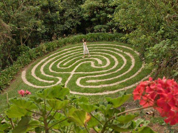 Labirinto meditação integrada à natureza
