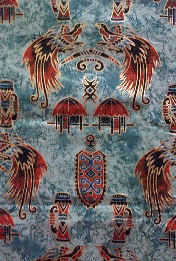 Batik Papua, Indonesia