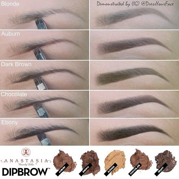 *NEW* Anastasia Beverly Hills Dipbrow! I MUST have this! I have been waiting forever for a multicolor line of eyebrow creams ! #blonde #darkbrown #chocolate @Crystal Lopez °•°• Tamanna Roashan •°•°! @Crystal Chou Chou Lopez Instagram photos | Webstagram