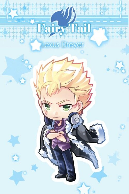 Fairy tail - laxus dreyar