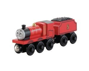 Fisher-Price Thomas the Train Wooden Railway James Engine