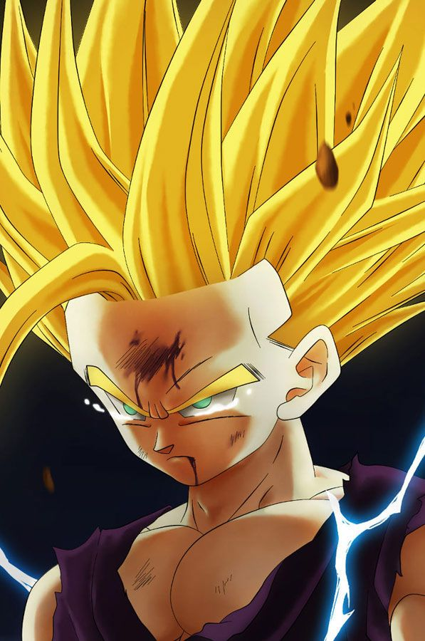 17 best images about gohan on pinterest all grown up - Teen gohan wallpaper ...