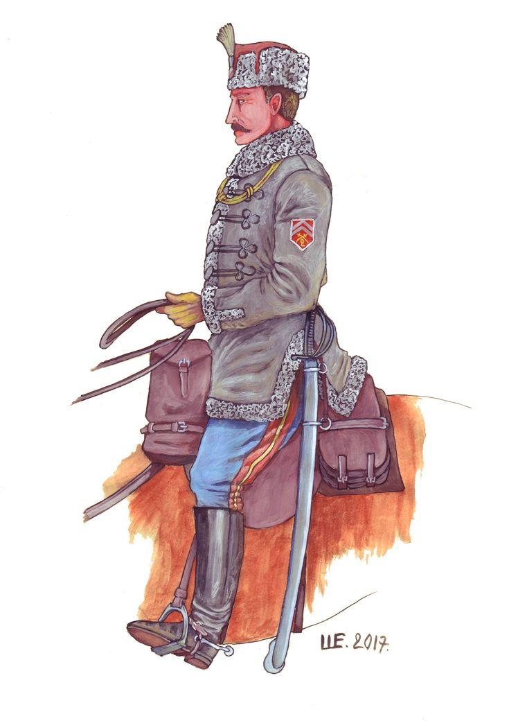 The Czechoslovak Corps. Second Cavalry Regiment. Siberia.