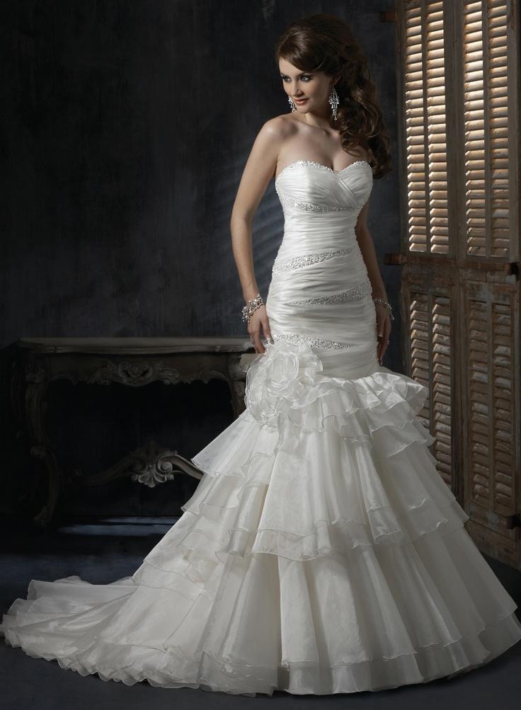 Vintage Wedding Dresses Maggie Sottero : The 1257 best images about bridal gowns on pinterest casablanca