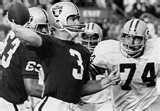 Super Bowl II  Green Bay Packers  33  Oakland Raiders  14  Jan. 14, 1968  Orange Bowl  Miami, Florida  MVP: Bart Starr, QB, Green Bay