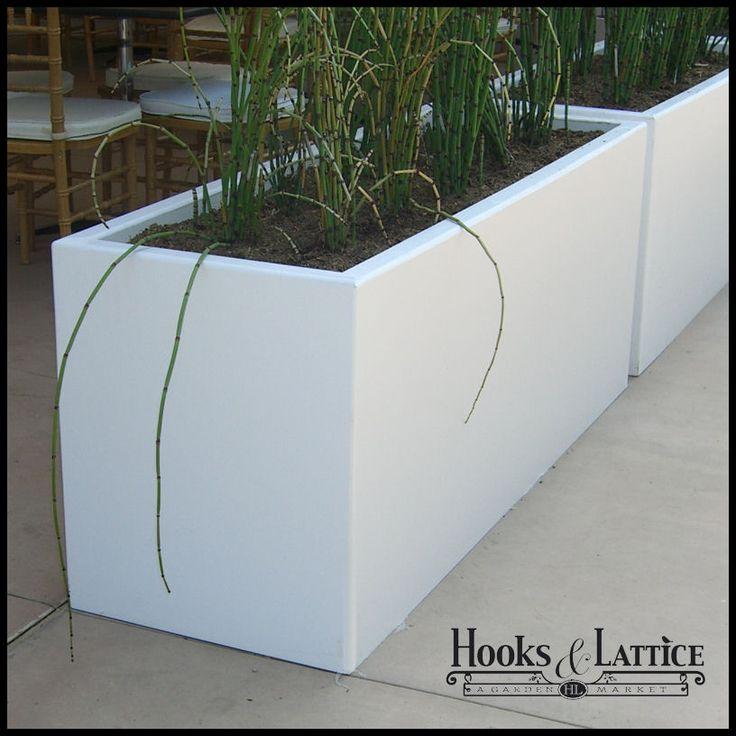 Urban Chic Premier Contemporary Planter 72in.L x 18in.W x 24in.H $777.85