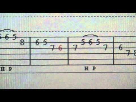 Rumba Rhythm. Flamenco Guitar Lesson - Spanish Guitar