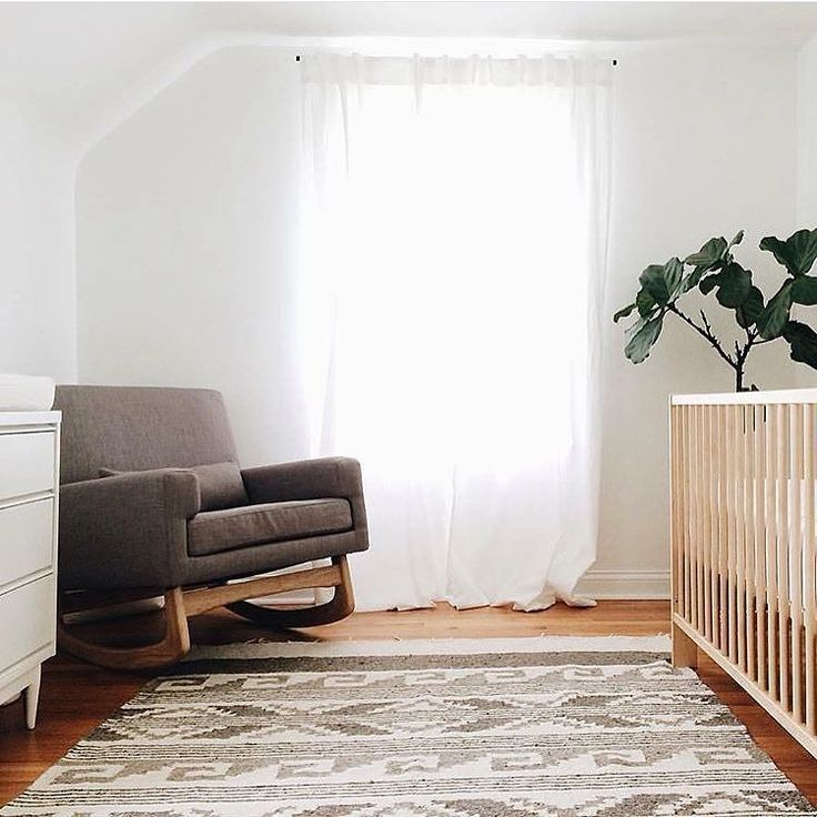 Isn't this nursery a minimalist dream?  @photocaravan & @simplymotherhood nailed it for River's bedroom. So tickled to have a piece in there!  by liberty.33rd http://discoverdmci.com