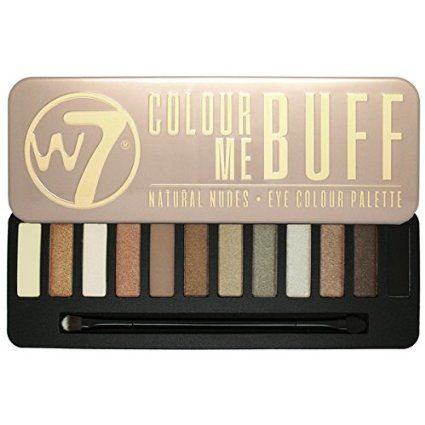 W7 Eye Colour Palette, Colour me Buff: Amazon.co.uk: Beauty