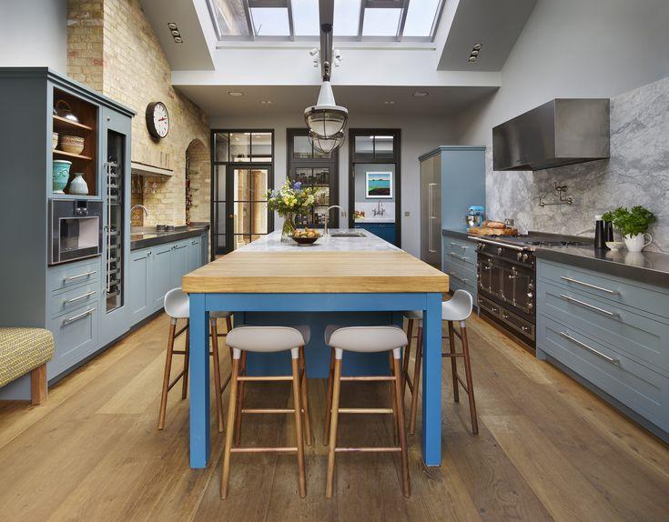 28 Best Roundhouse Blue Kitchens Images On Pinterest  Bespoke Alluring Blue Kitchen Design Inspiration