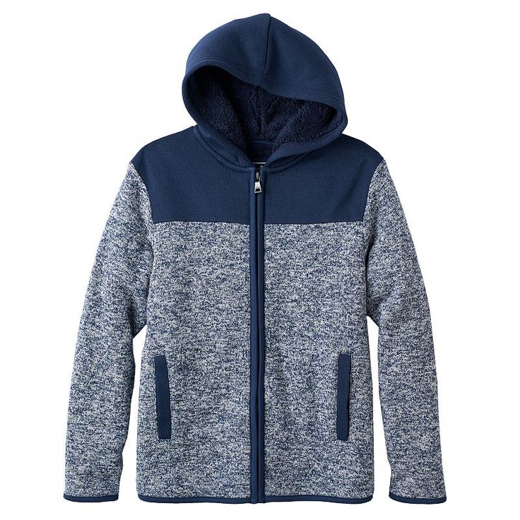 Boys 820 Urban Pipeline™ Colorblock Fleece Jacket