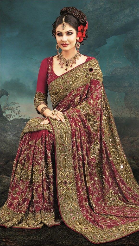 Traditional Indian Wedding Saree