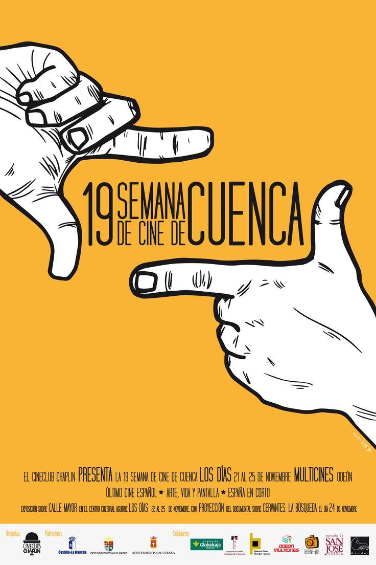 Cartel De la 19 Semana de Cine de Cuenca