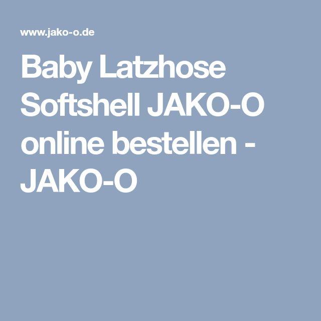 Baby Latzhose Softshell JAKO-O online bestellen - JAKO-O
