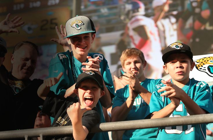 Jaguars Game Day with the Family