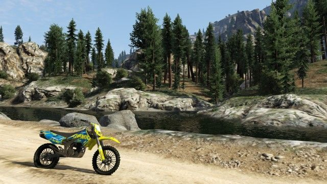 Dirtbike Scenery