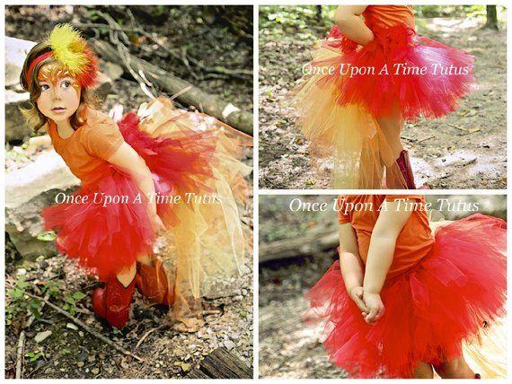 Custom Size Newborn Toddler Little Girls Adult Ladies Red Feather Bustle Tutu