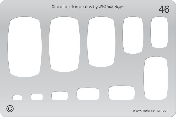 Acrylic template No 46. Perfect for creating a wide variety of polymer, metal or clay bracelet, necklace, pendant and earring designs.