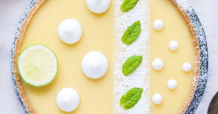 Lemon meringue tart! Recipe for tart shell, lemon curd and Italian meringue :)