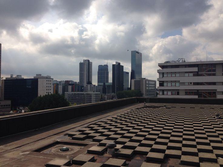 Rooftop #Katshoek #rotterdam #oma