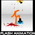 One of the best stick figure fighting flash animations I've ever seen, it helps that there are PORTALS~