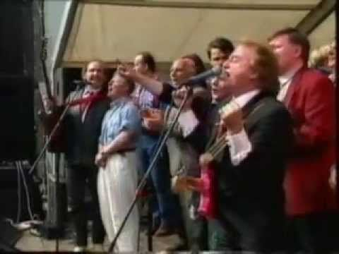 Gerry and the Pacemakers - You'll Never Walk Alone', Liverpool anthem taken from the musical 'Carousel' .