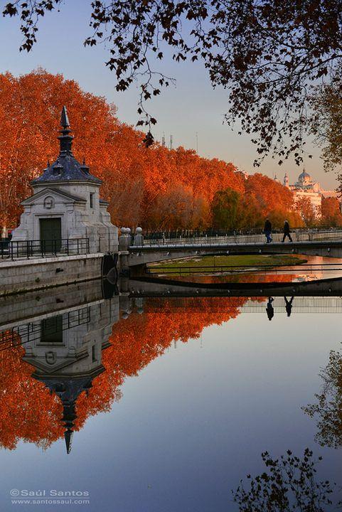 Río Manzanares, Madrid, Spain