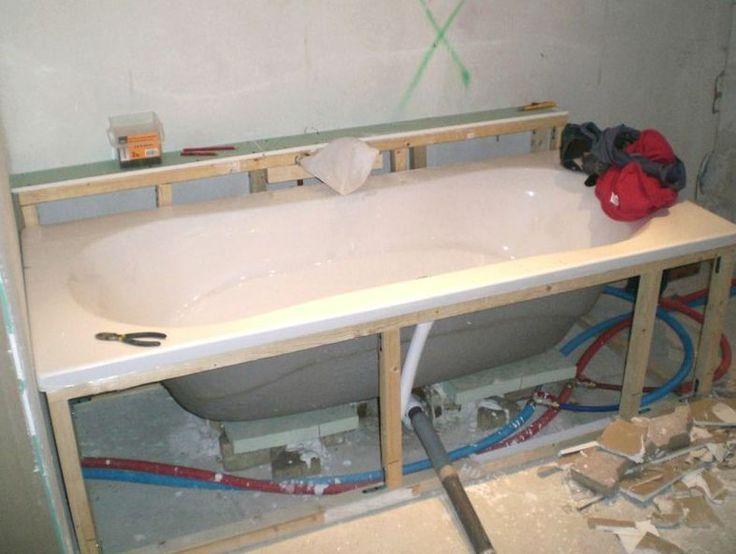 structure portante baignoire robinet vertical inspirations bain bath pinterest. Black Bedroom Furniture Sets. Home Design Ideas